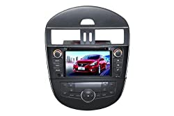 See AupTech 2011-On Nissan Tiida DVD Player Android System GPS Navigation Radio Stereo Video 2-Din HD Screen With Bluetooth,Wifi,3G,Build in Analog TV and Steering Wheel Control Details