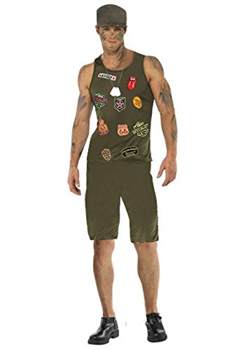 Sexy Mens Camouflage Suit Waistcoat