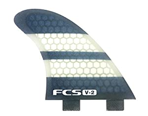 Buy FCS K2.1 V-2 Performance Core Surfboard Fins - Quad Set by FCS