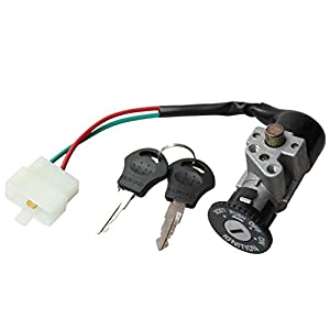 GOOFIT 2 Wire Single Key Ignition for Motorcycle