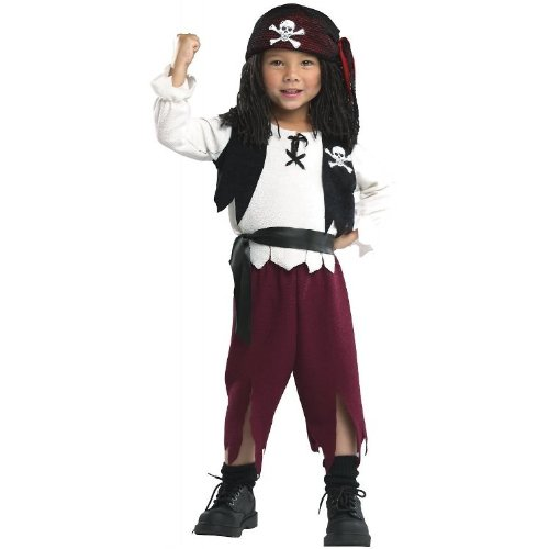 Little Boys' Pirate Captain Yarn Baby Costume