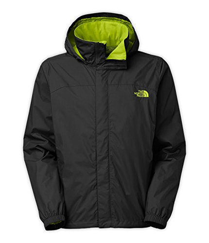 The North Face Men's Resolve Jacket (XXX-Large, TNF Black/Macaw Green)