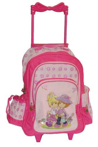 Trolley Mädchen Motiv für Kinder - rosa pink