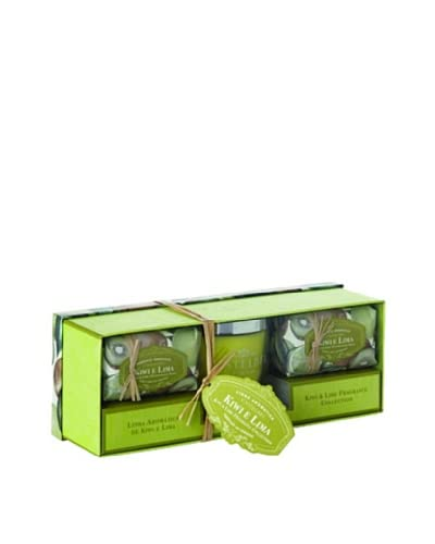 Castelbel Ambiante Kiwi & Lime Soap & Candle Gift Set As You See