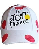 Casquette - Collection officielle Le Tour de France de Cyclisme 2014 - Maillot à Pois Grimpeur