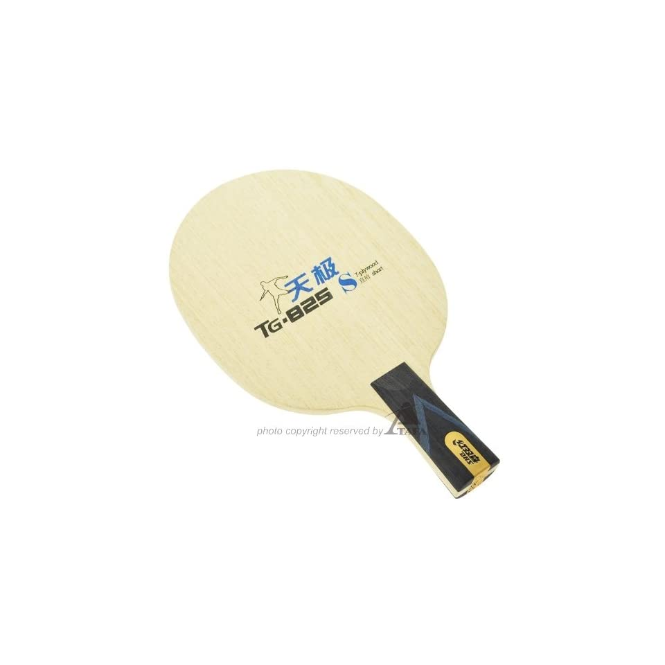 DHS NEO TG825 China T.T. Team Table Tennis Blade (Penhold), Designed For The Era of Inorganic Glue