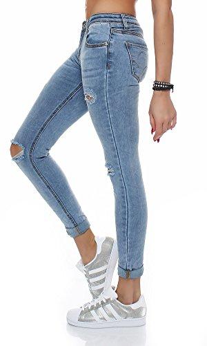 skutari damen baggy jeans destroyed zerrissen boyfriend g nstige hosen. Black Bedroom Furniture Sets. Home Design Ideas