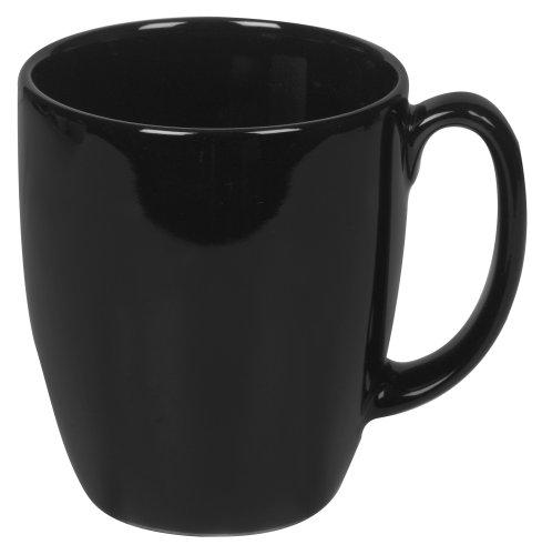 Corelle Livingware 11-Ounce Mug, Black