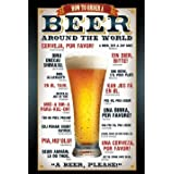 How To Order - Beer Poster - 91.5x61cm ~ GB eye