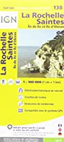 TOP100138 LA ROCHELLE/SAINTES  1/100.000