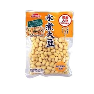 イチビキ 国産水煮大豆 155g×10個