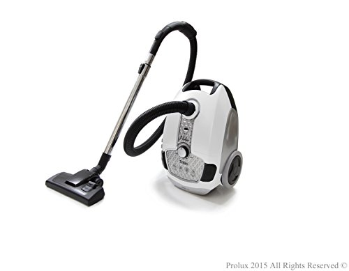 Prolux Tritan Canister Vacuum HEPA Sealed Hard Floor Vacuum With Powerful 12 Amp Motor