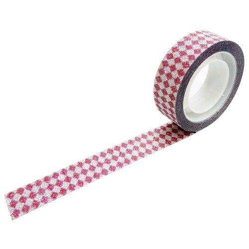 グリッターテープ ダイヤモンドレッド