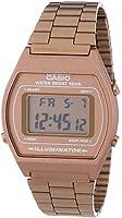 Casio Unisex-Armbanduhr Casio Collection Digital Quarz Edelstahl B640WC-5AEF