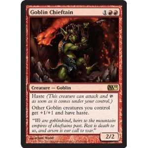 Amazon.com: Magic: the Gathering - Goblin Chieftain - Magic 2011: Toys