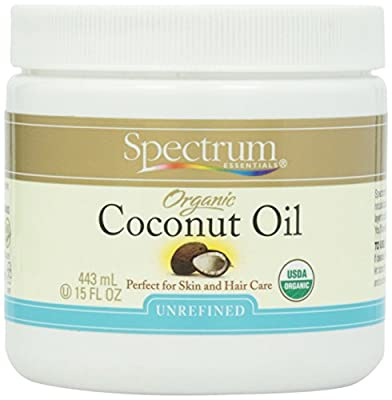Spectrum Essentials Organic Coconut Oil, 15 oz
