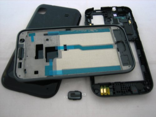 Samsung Galaxy Sl I9003 ~ Black Cover Housing ~ Mobile Phone Repair Part Replacement