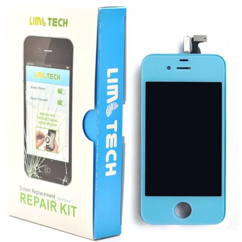 Limtech Iphone 4S (At&T/ Verizon/ Sprint) Premium Screen Replacement & Deluxe Repair Kit ,With Guide Book And Tools .Touchscreen Digitizer And Lcd Assembly
