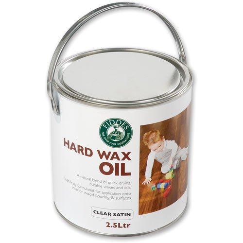 Fiddes- Hard Wax Oil - Clear Matt 2.5ltr Tin -like Osmo