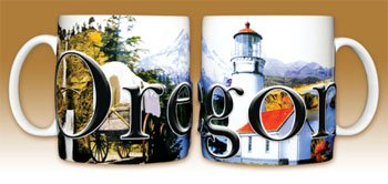 Oregon - Coffee Mug