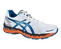 ASICS GEL-KAYANO 19 Running Shoes (2E WIDTH) - 11.5 - White