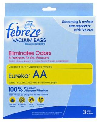 Febreze 100% Premium Allergen Filtration Eureka Aa Vacuum Cleaner Bag front-308219