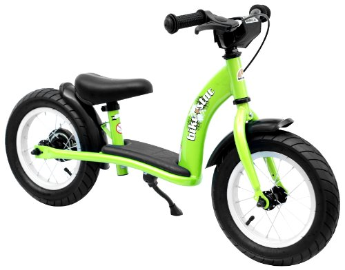 41Mx6SeCc5L Cheap  bike*star 30.5cm (12 Inch) Kids Learner Balance Beginner Run Bike Classic   Colour Green