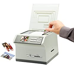 SVP 2012 Newest PS9890 3-in-1 Digital Photo / Negative Films / Slides Scanner with built-in 2.4 LCD