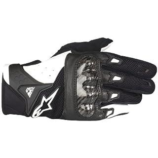 RS TAICHI [ アールエスタイチ ] alpinestars [ アルパインスターズ ] S-MX2 エアーカーボン グローブ BLACK/WHITE M [ スポーツライディンググローブ ] [ 品番 ] AAT048
