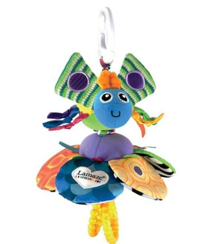 Lamaze Baby Early Development Toys Inchworm Fly Honey Bee Toddler front-524490