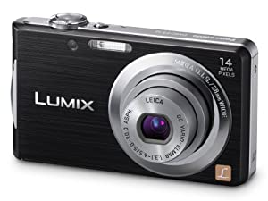 Panasonic Lumix FS16 Digital Camera - Black (14.1MP, 4x Optical Zoom)  2.7 inch LCD (discontinued by manufacturer)
