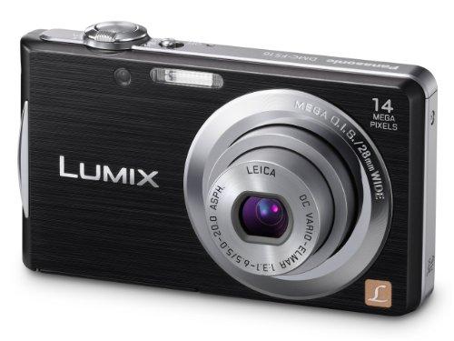 Panasonic Lumix FS16 Digital Camera - Black (14.1MP,