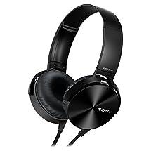 Sony MDR-XB450AP Extra Bass Headphone - Black (International Version)