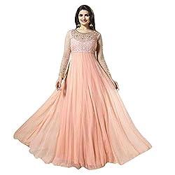 Glorious & New Light Pink Colour Anarkali salwar suit