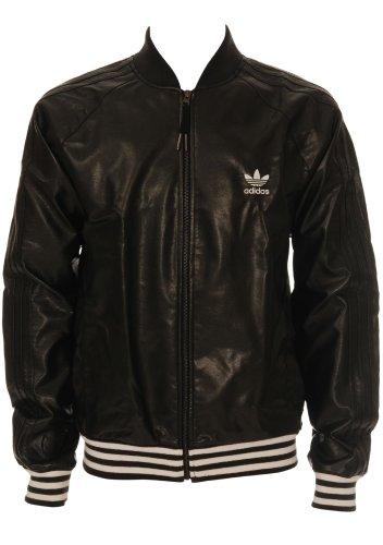 adidas Herren Originals Jacke Leather Jacket