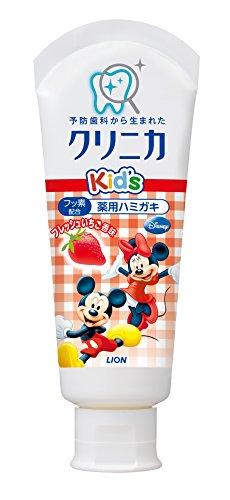 クリニカKid'sハミガキ フレッシュいちご 60g (医薬部外品)