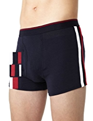 3 Pack Cool & Fresh™ Stretch Cotton Assorted Trunks with StayNEW™
