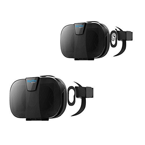 HooToo 3D VR Headset with Magnetic Trigger - 2 Pack
