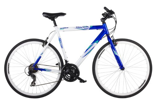 Barracuda Men's Vantos Road Bike - White/Blue ( Wheel 700C, Frame 22 Inch)
