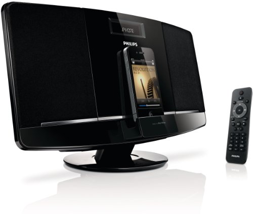 Philips Dcm2055/37 Micro Music System Dock For Ipod/Iphone