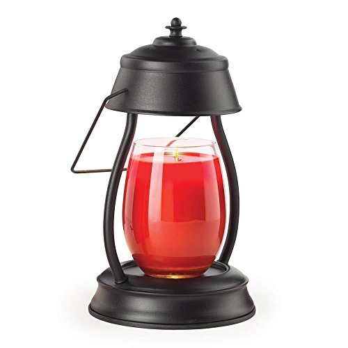 Candle Warmers Hurricane Lamp - Electric Black