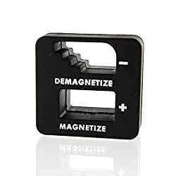 Tools Centre Magnetizer Demagnetizer for Screwdriver Tips, Bits and Small Tools