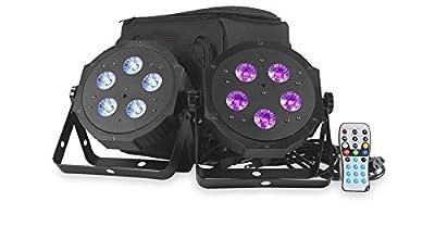ADJ Products VPAR PAK Campact Low-Profile LED Par Kit