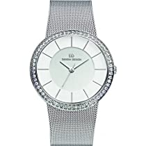 Danish Design V62Q951 Ladies Stone Set Mesh Watch