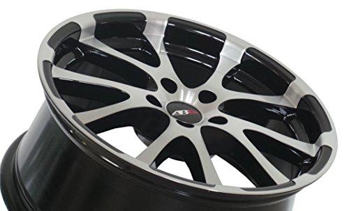 ABU-Wheels-ABU1-Lot-de-4-jantes-en-aluminium-pour-Audi-Seat-Skoda-et-VW-8-x-18-ET45-5-trous-112-mm-Noirargent-poli-18