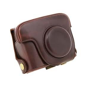 Tui appareil photo sacs en cuir pu pour canon powershot for Housse canon g15