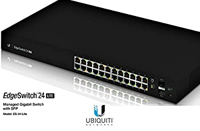 Ubiquiti Networks Managed Gigabit Switch with SFP ES-24-LITE