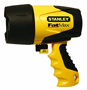 Stanley FL5W10 Waterproof LED Rechargeable Spotlight by Stanley