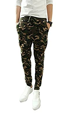 Demetory Men Newest Arrival Camouflage Military Casual Harem Pants