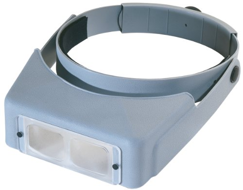 Brand New Optivisor Lx Binocular Magnifier-Lensplate #7 Magnifies 2.75X At 6""